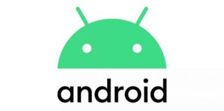 Android Q, Android 10, nuovo logo Android